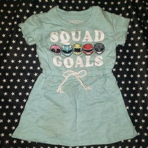 Power Rangers Toddler Girls Dress